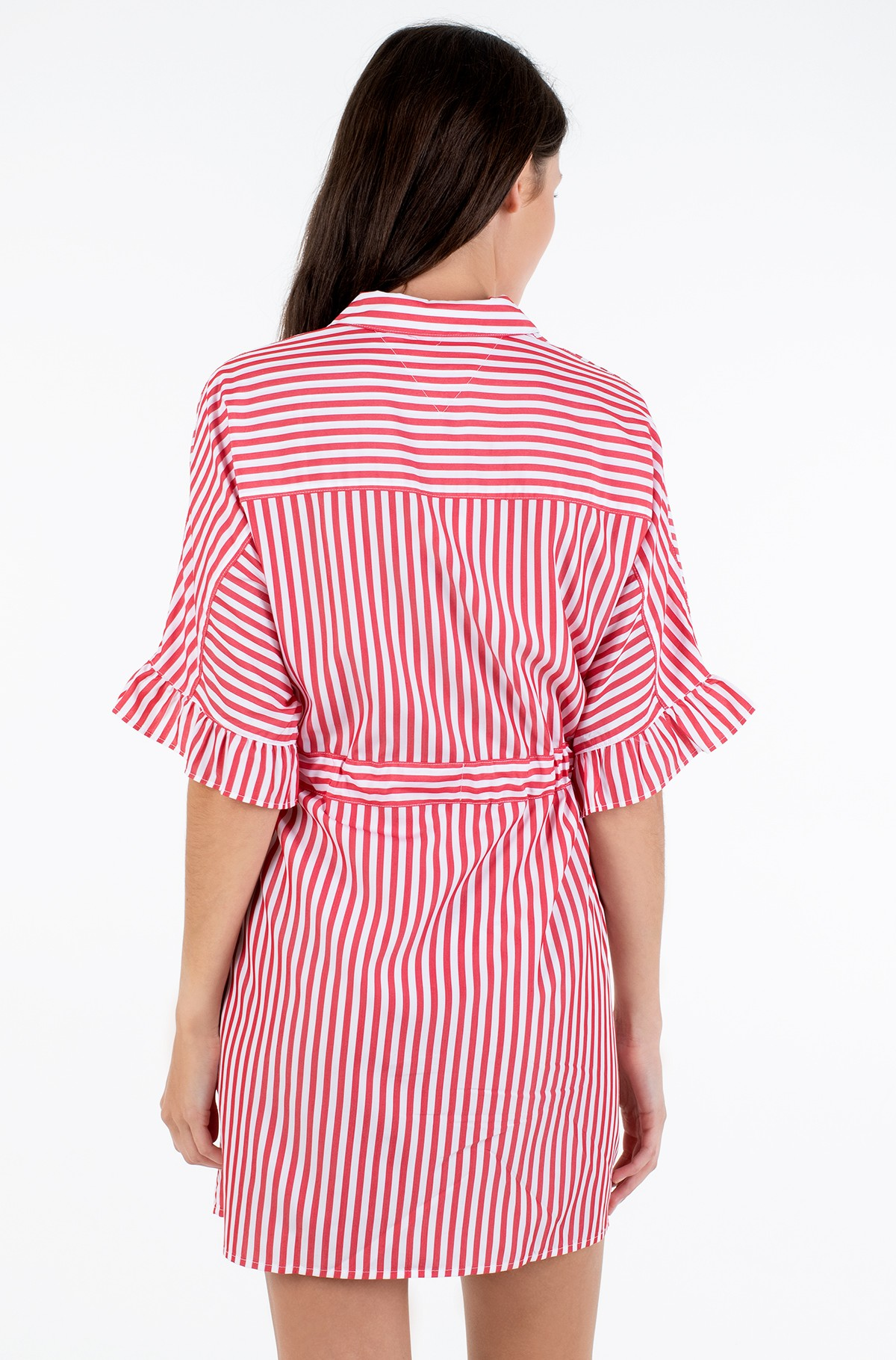 Kleit TJW FRILL SLEEVE SHIRT DRESS-full-2