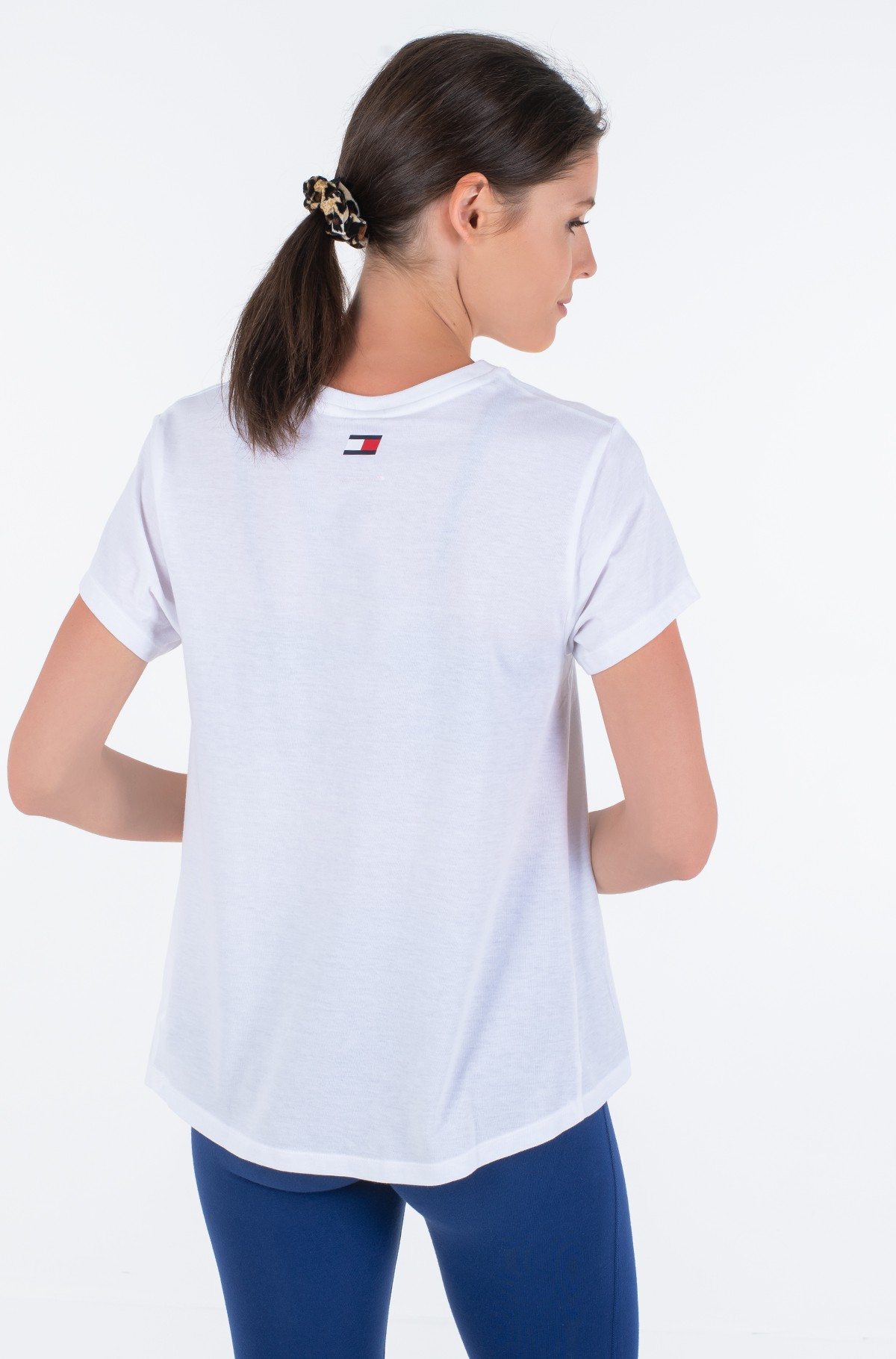 Spordipluus COTTON MIX CHEST LOGO TOP-full-2