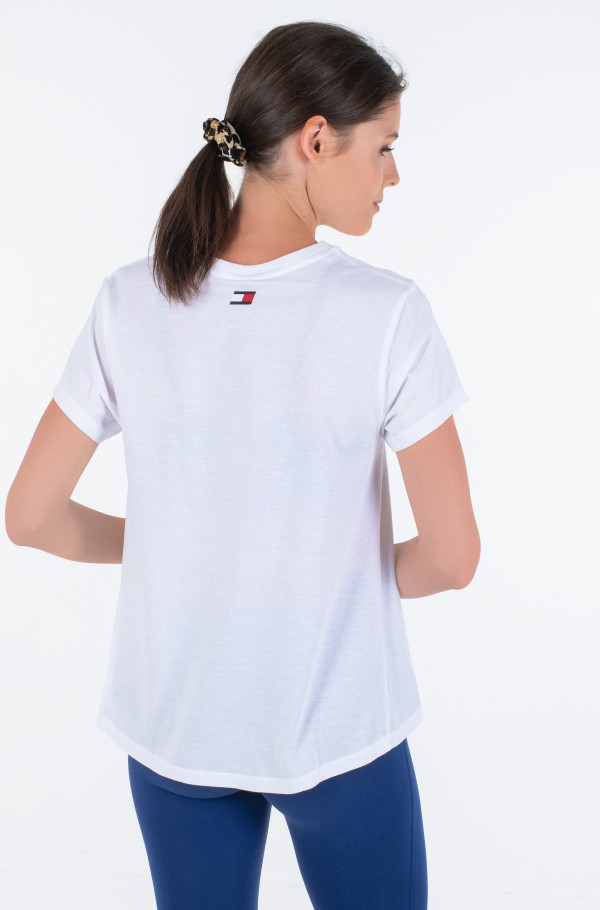 COTTON MIX CHEST LOGO TOP-hover