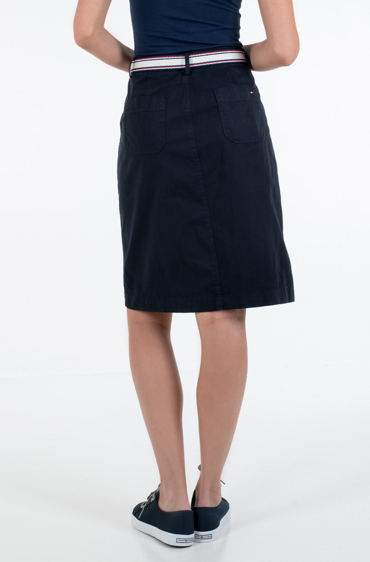 Skirt TH COOL POPLIN GMD SKIRT-full-2