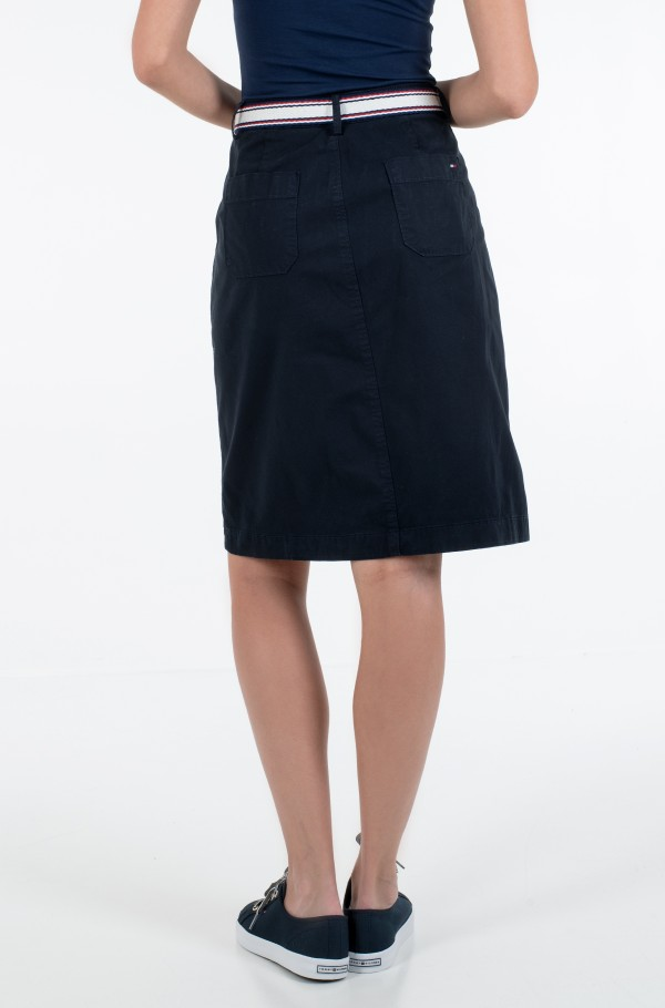 TH COOL POPLIN GMD SKIRT-hover