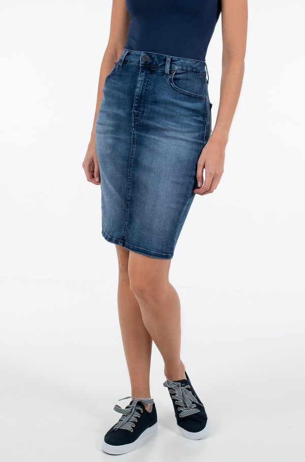HIGH WAIST DENIM SKIRT DYRMB