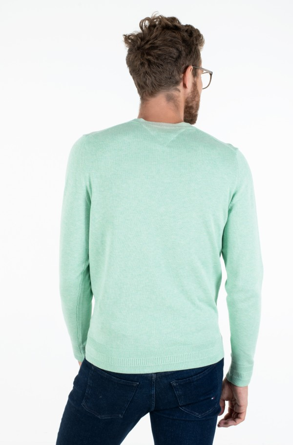 LUXURY PIMA COTTON CREW NECK-hover