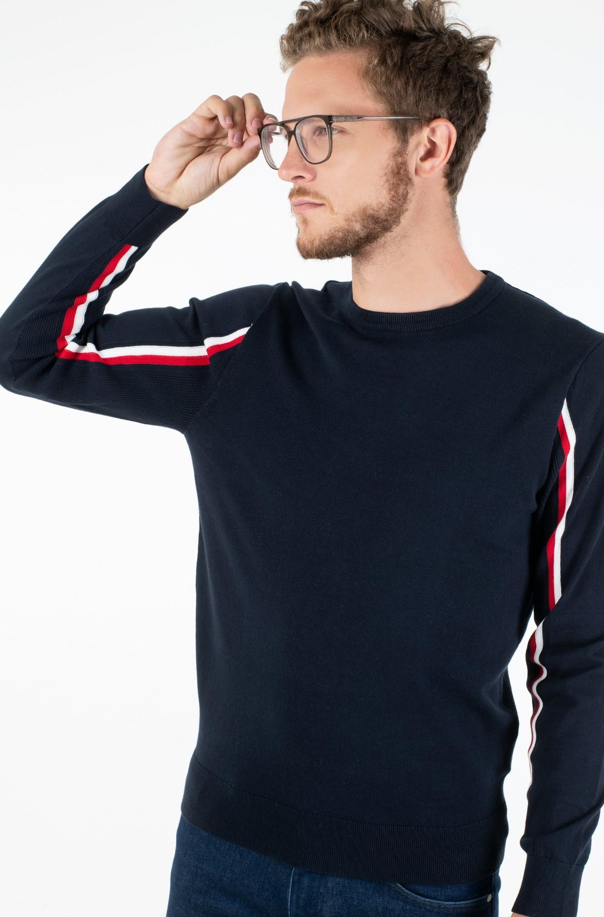 Džemperis GLOBAL STRIPE INTARSIA SWEATER-full-1
