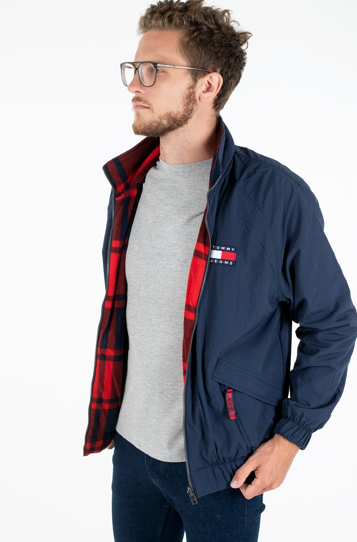 Jope TJM REVERSIBLE PLAID JACKET-full-1