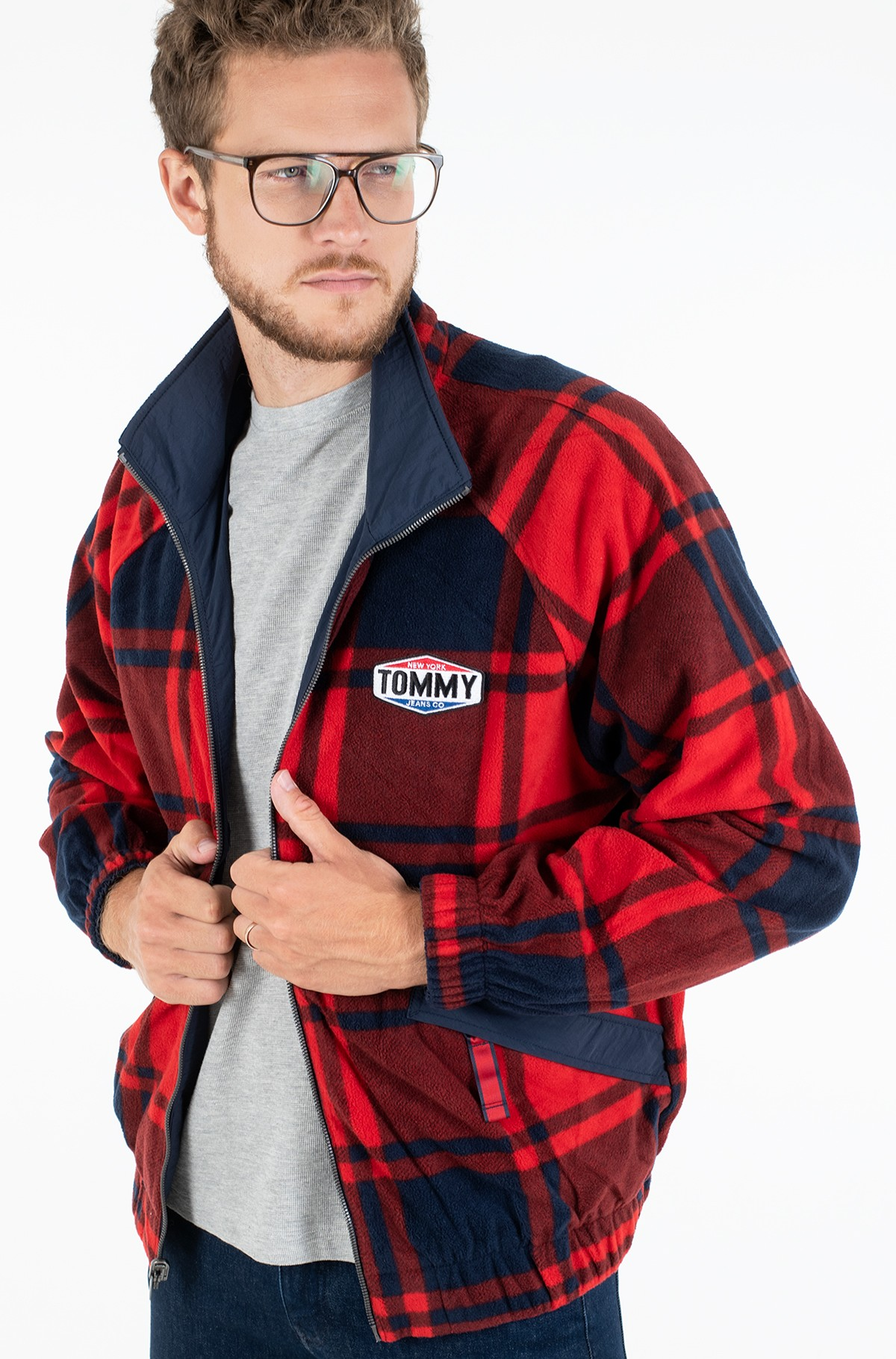 Jope TJM REVERSIBLE PLAID JACKET-full-2
