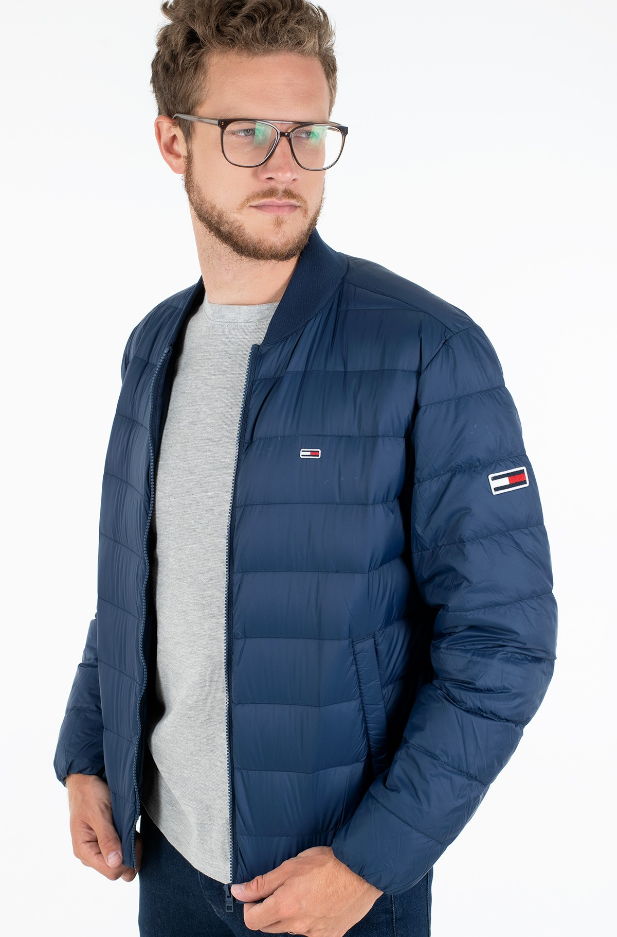 Jacket TJM LIGHT DOWN BOMBER JACKET-full-1
