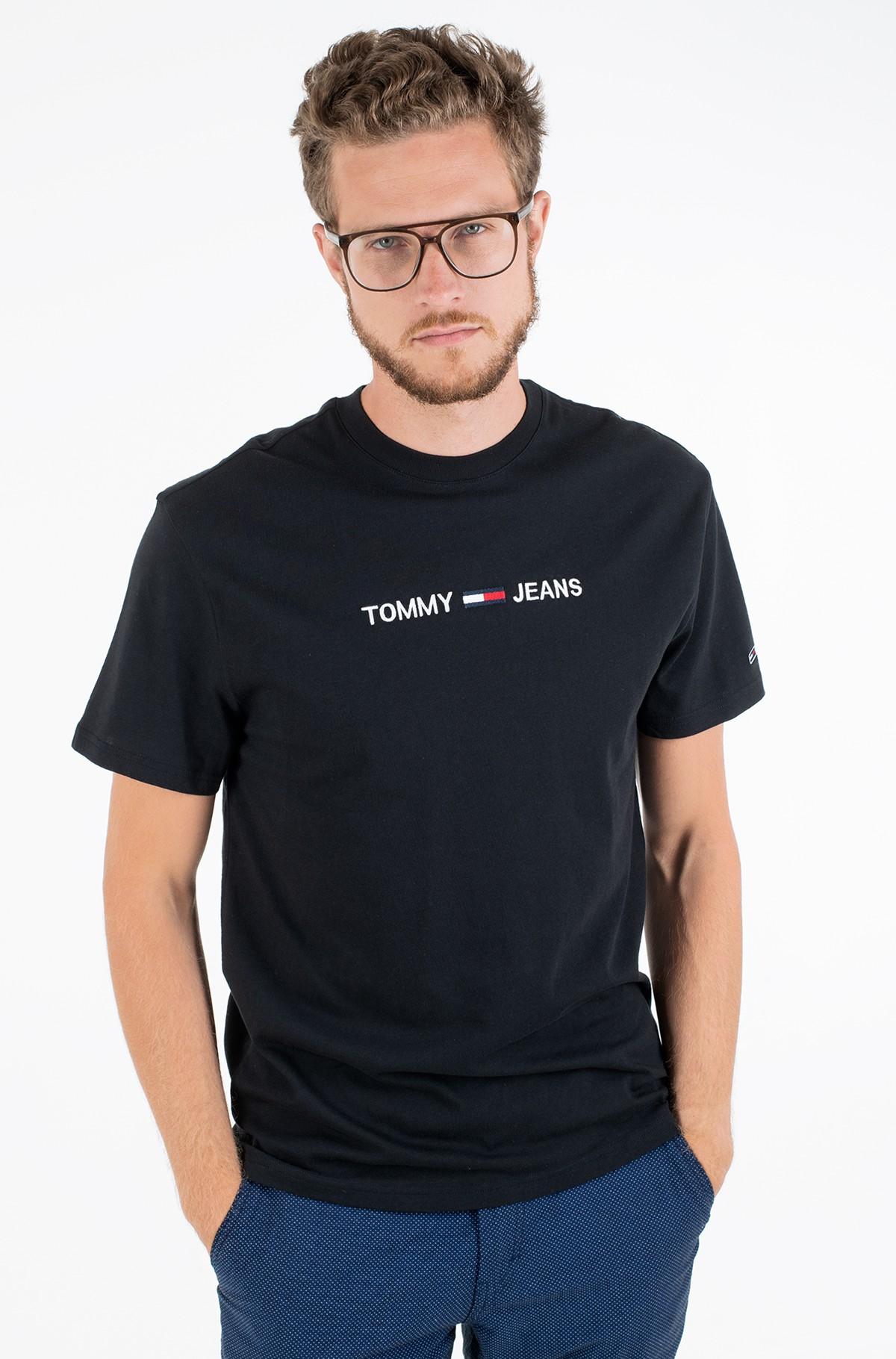 T-shirt TJM STRAIGHT LOGO TEE-full-4