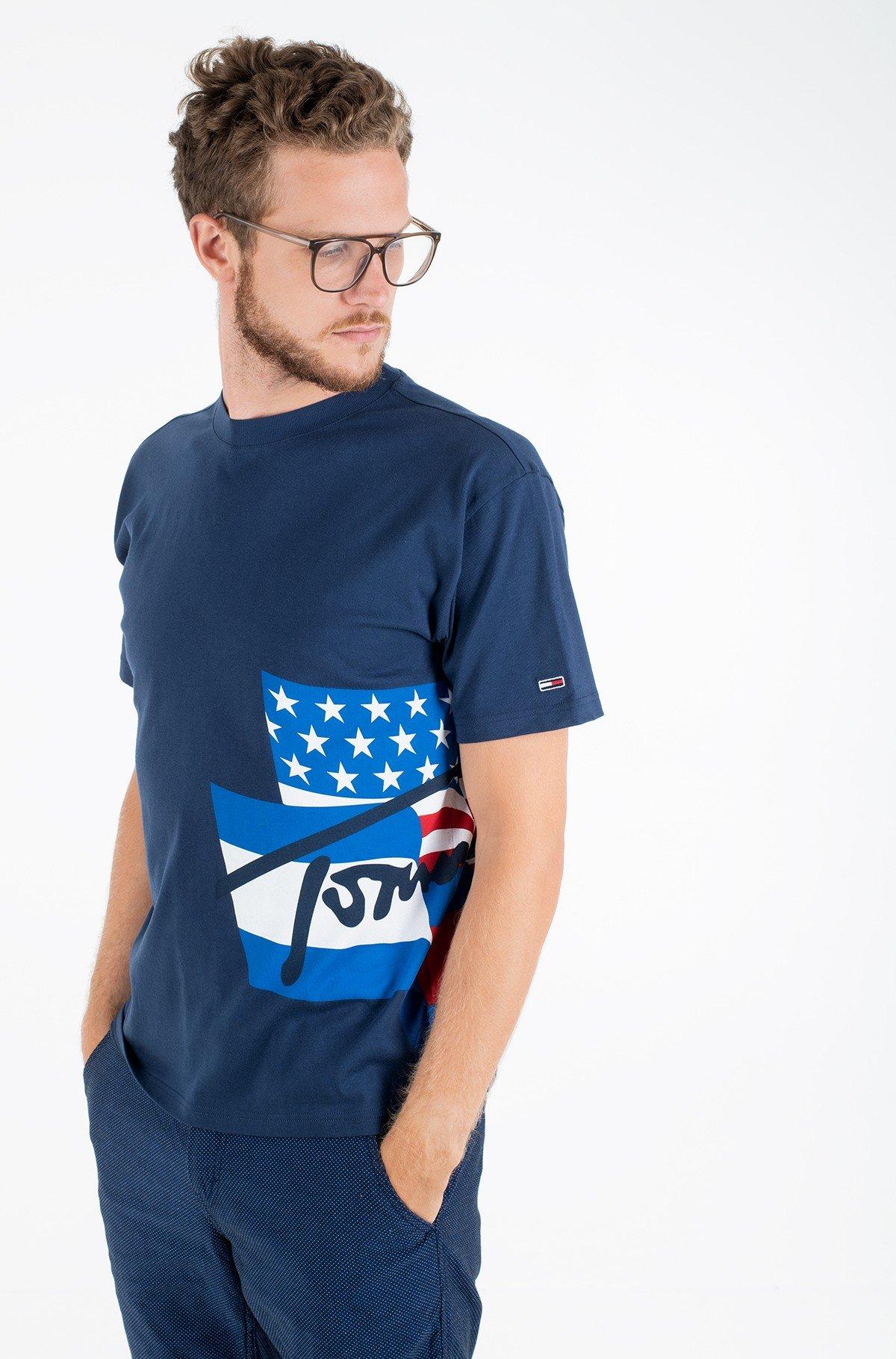 T-särk TJM HERITAGE FLAGS LOGO TEE-full-1