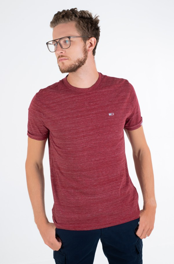 TJM BRANDED SLEEVE HEATHER TEE