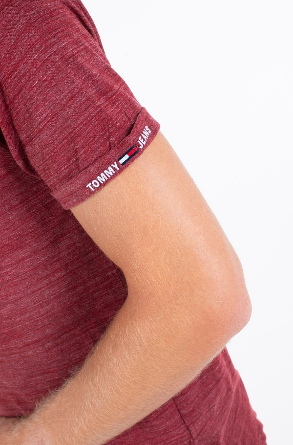 TJM BRANDED SLEEVE HEATHER TEE-hover