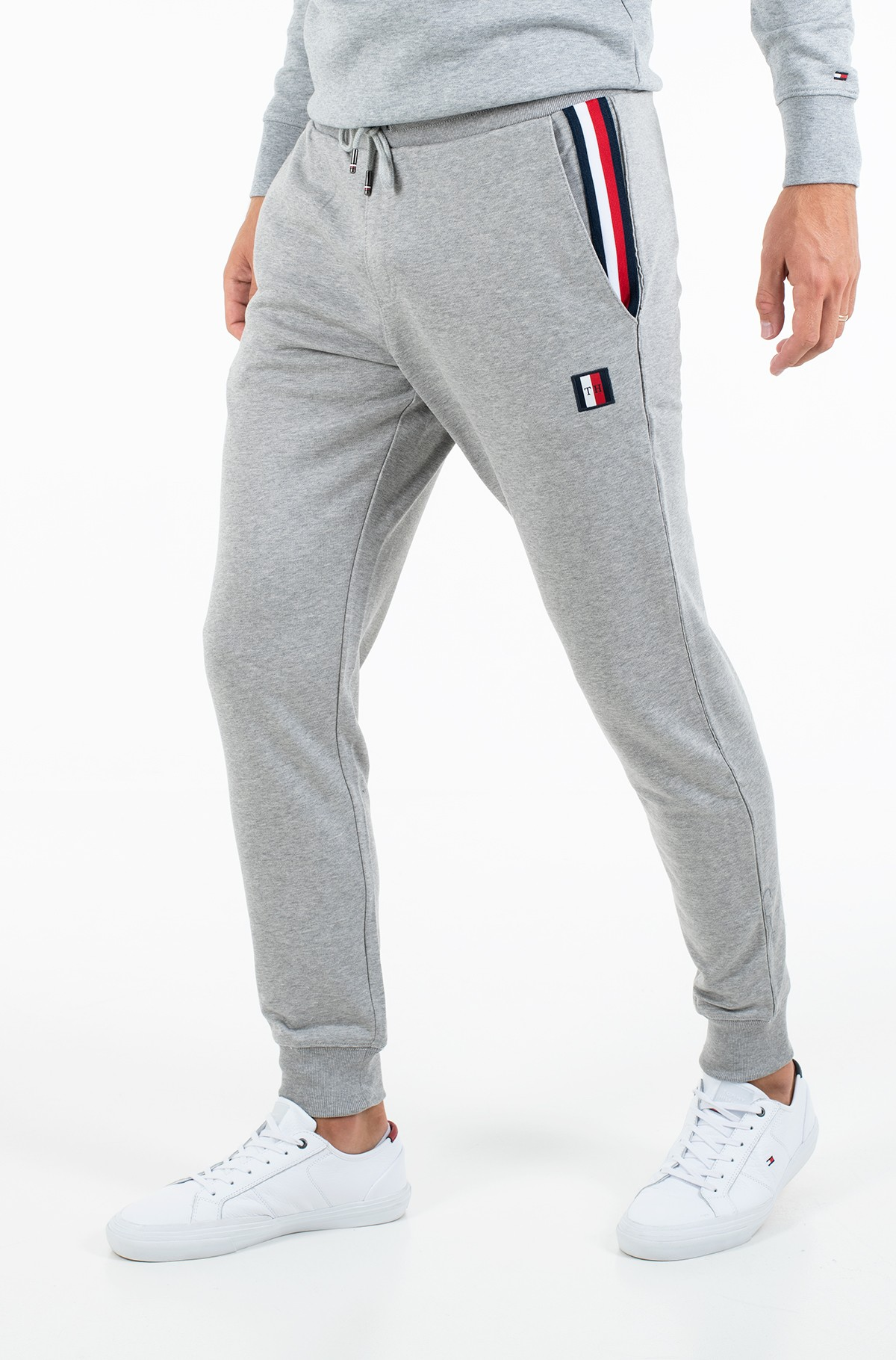 Dressipüksid GLOBAL STRIPE SWEATPANTS-full-1