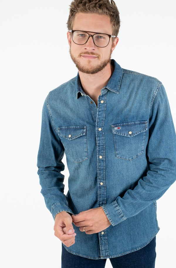 TJM WESTERN DENIM SHIRT
