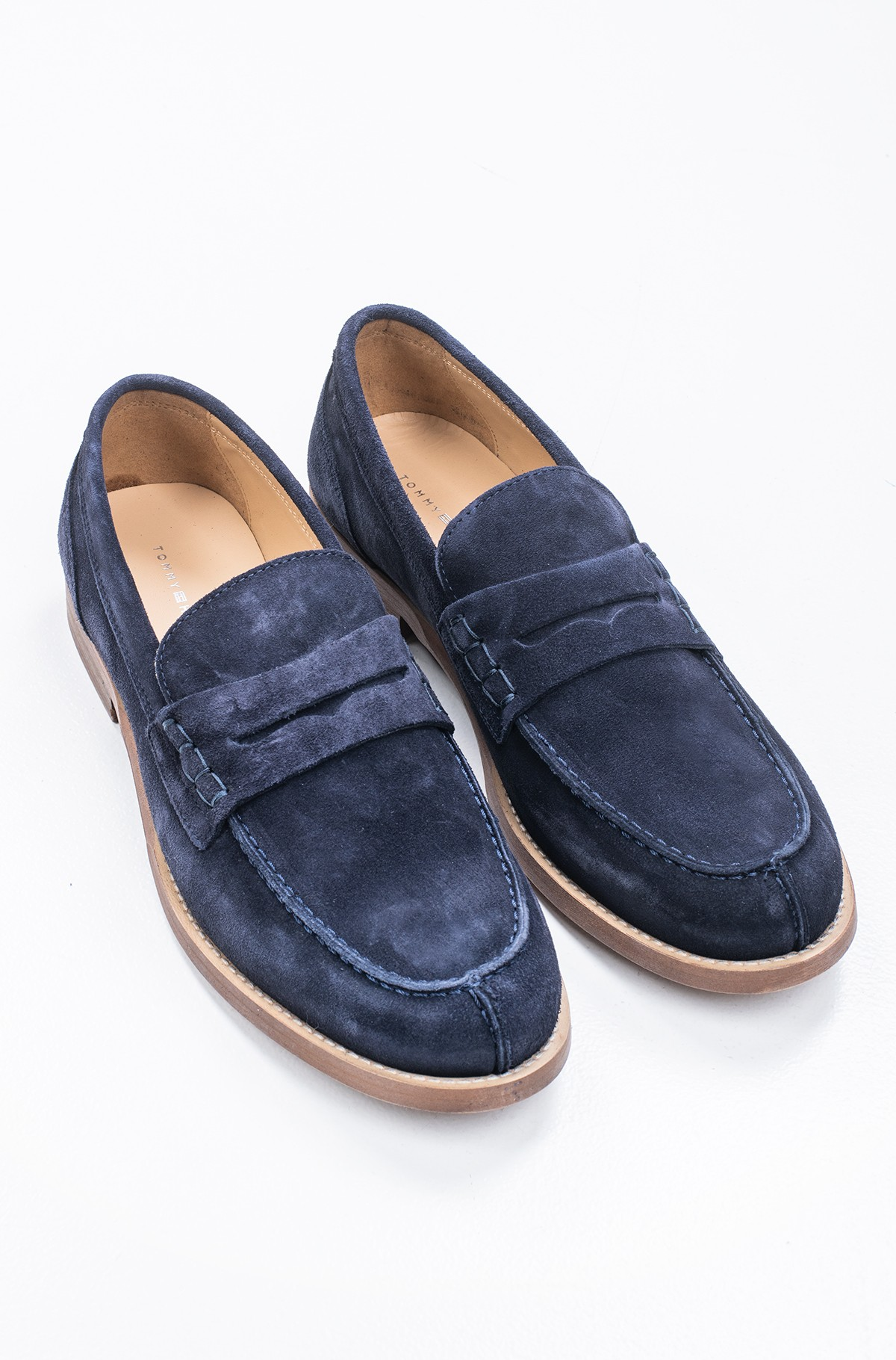 Kingad HILFIGER SUEDE LOAFER-full-1