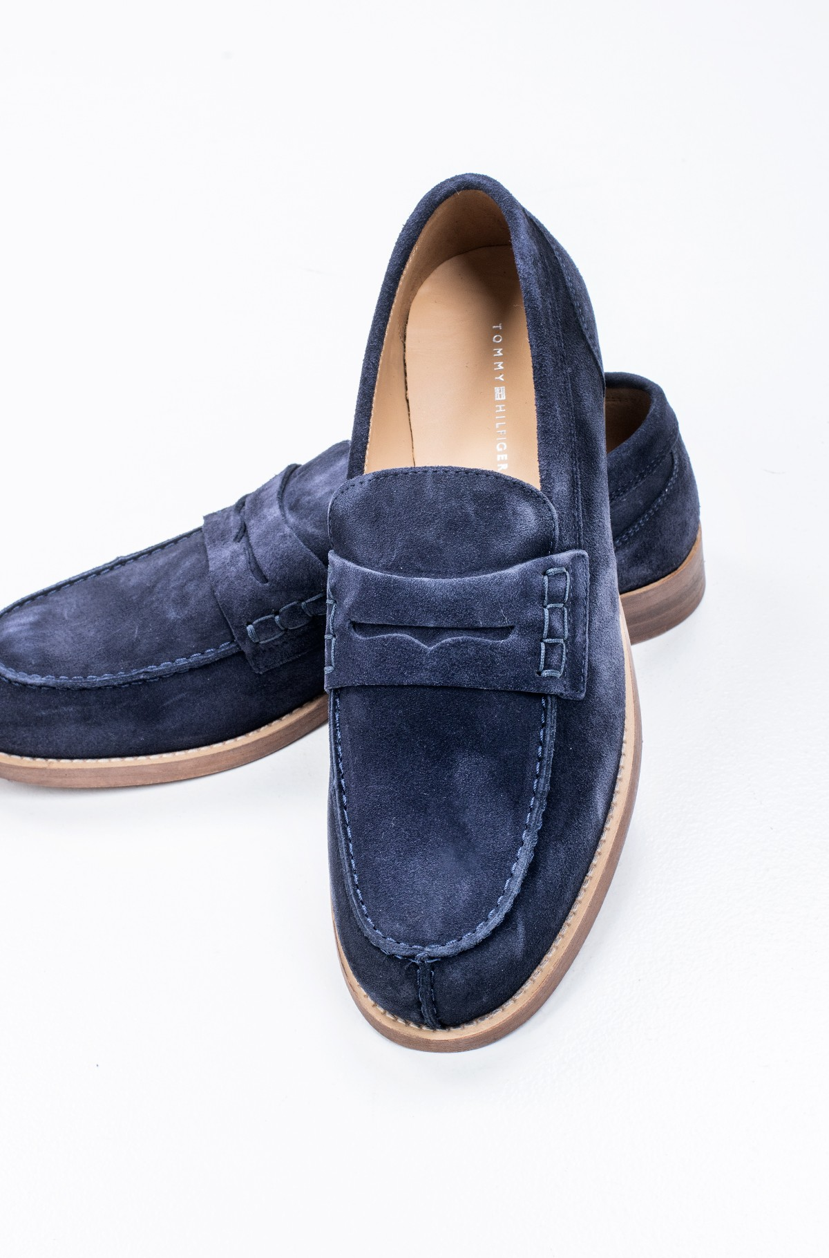Kingad HILFIGER SUEDE LOAFER-full-2