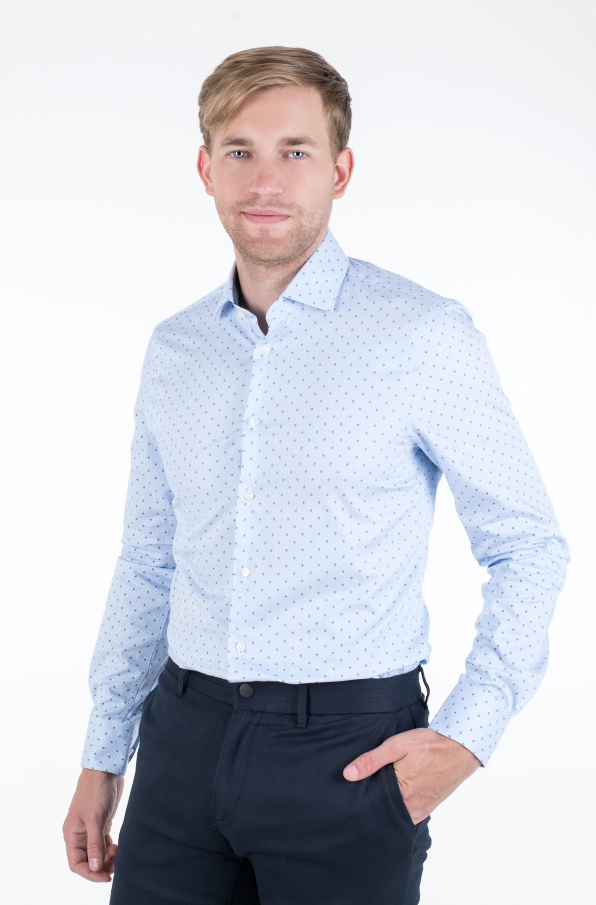 Marškiniai STRIPE PRINT CLASSIC SLIM SHIRT-full-1