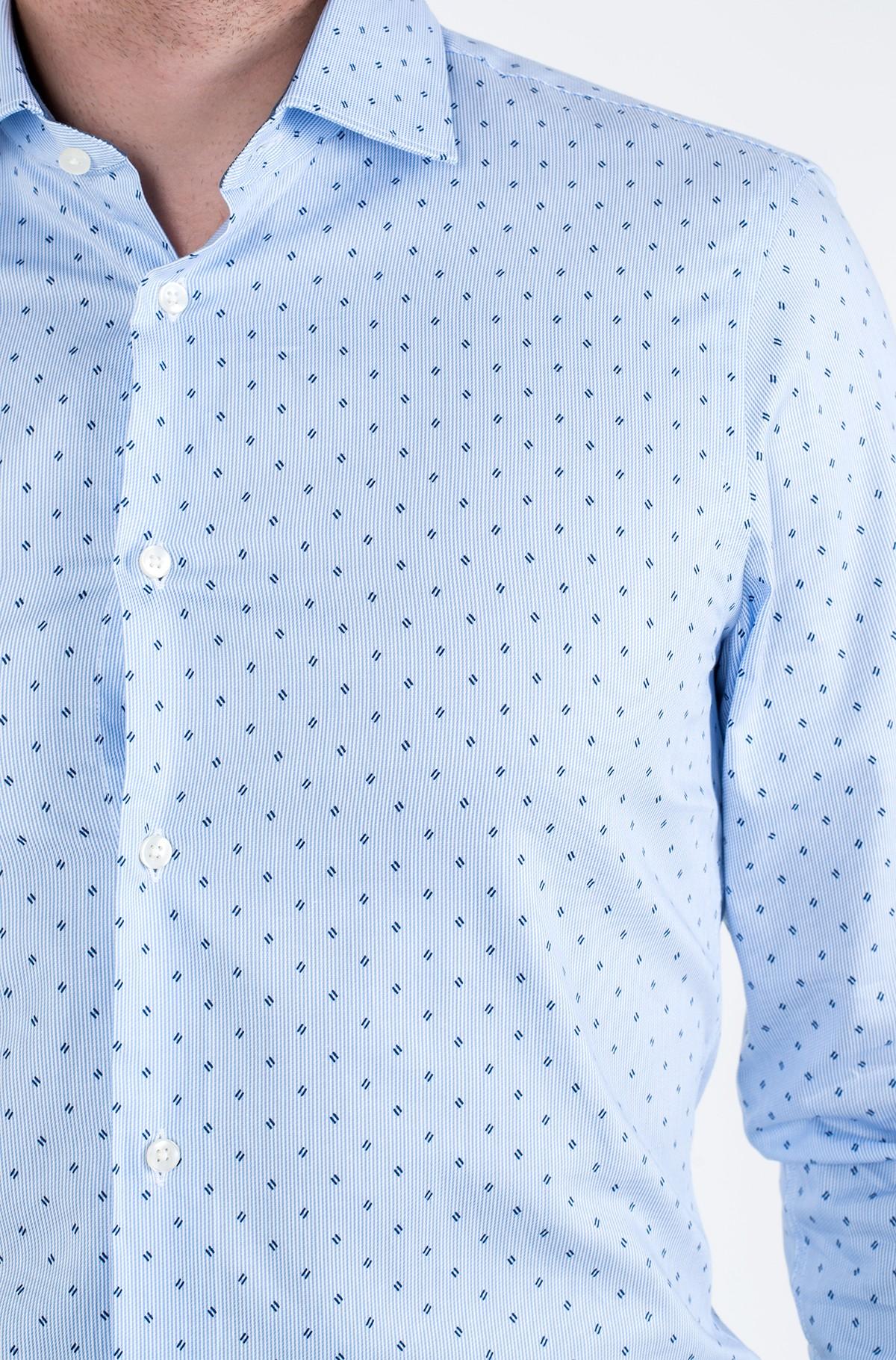Marškiniai STRIPE PRINT CLASSIC SLIM SHIRT-full-2
