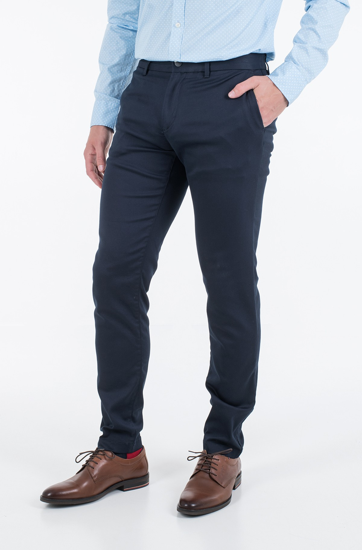 Suit trousers TAPERED TECH STRETCH TWILL FLEX-full-1