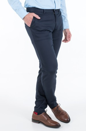 Suit trousers TAPERED TECH STRETCH TWILL FLEX-2