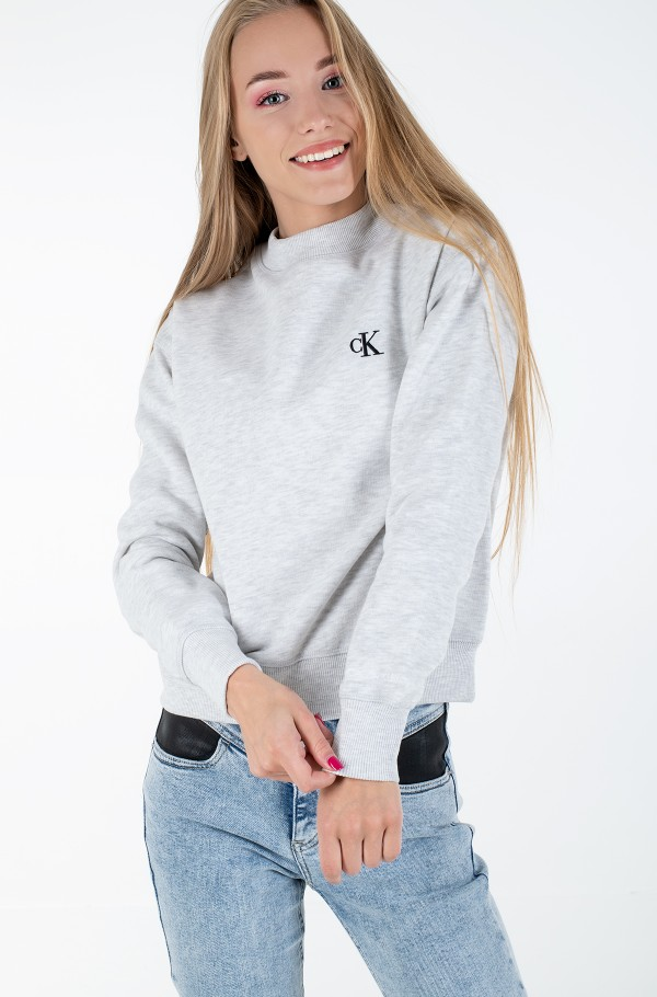CK EMBROIDERY REGULAR CREW NECK