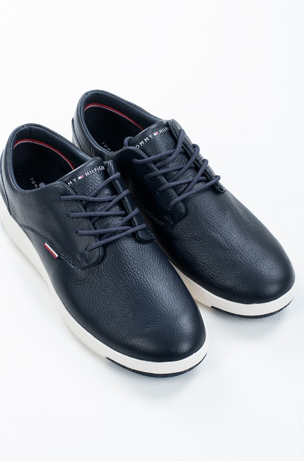 LIGHWEIGHT CITY LEATHER SHOE-hover