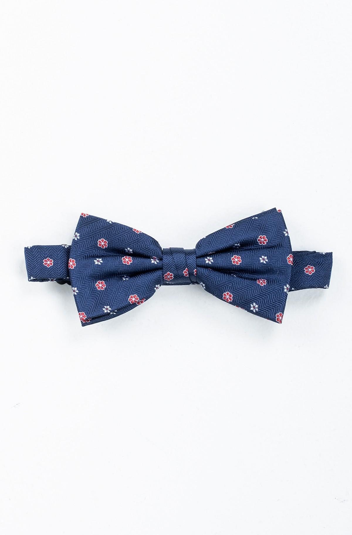 Bow tie HERRINGBONE DESIGN SILK BOWTIE-full-1