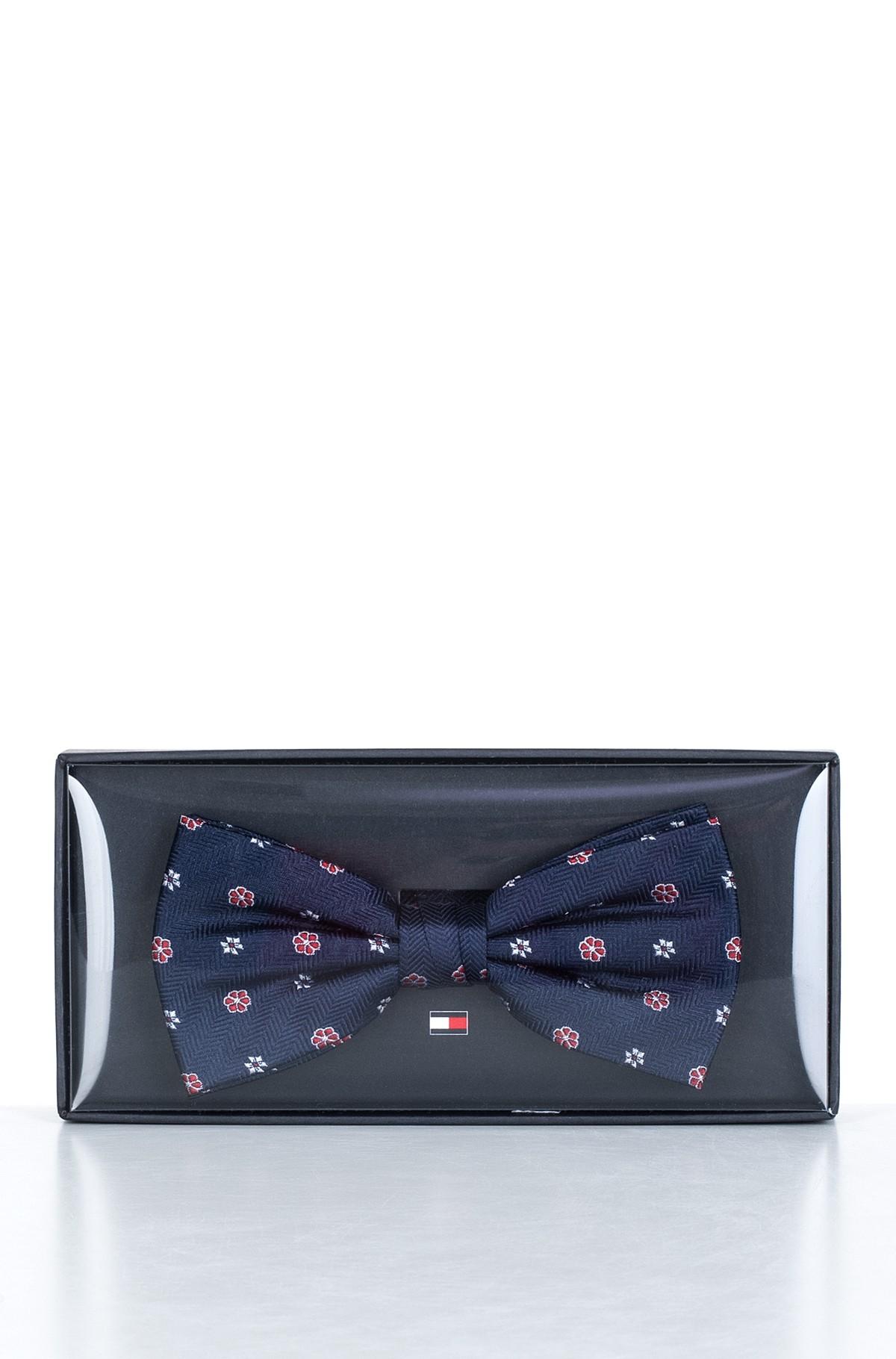 Bow tie HERRINGBONE DESIGN SILK BOWTIE-full-2