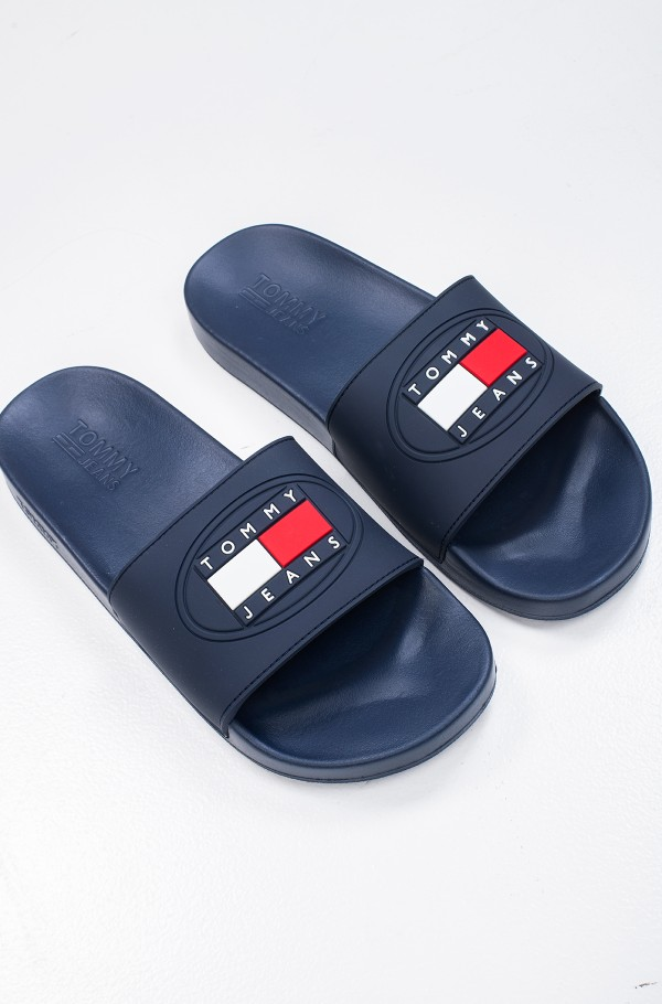 TOMMY JEANS SEASONAL FLAG SLIDE