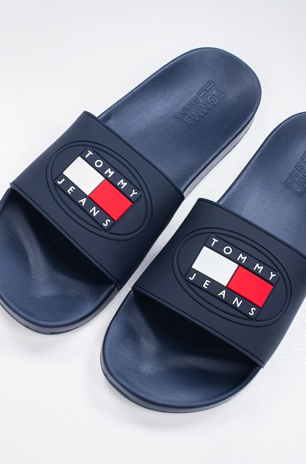 TOMMY JEANS SEASONAL FLAG SLIDE-hover