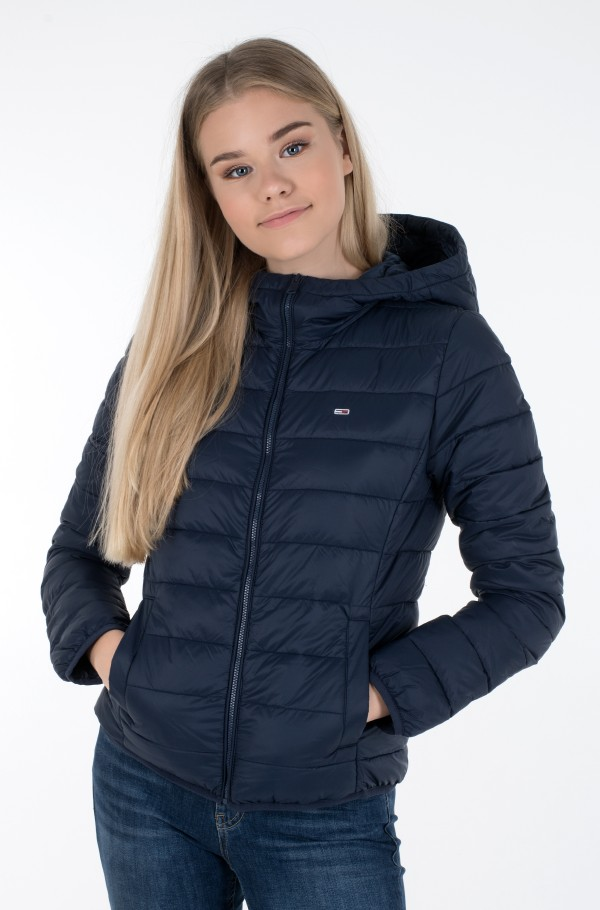 TJW HOODED QUILTED ZIP THRU-hover
