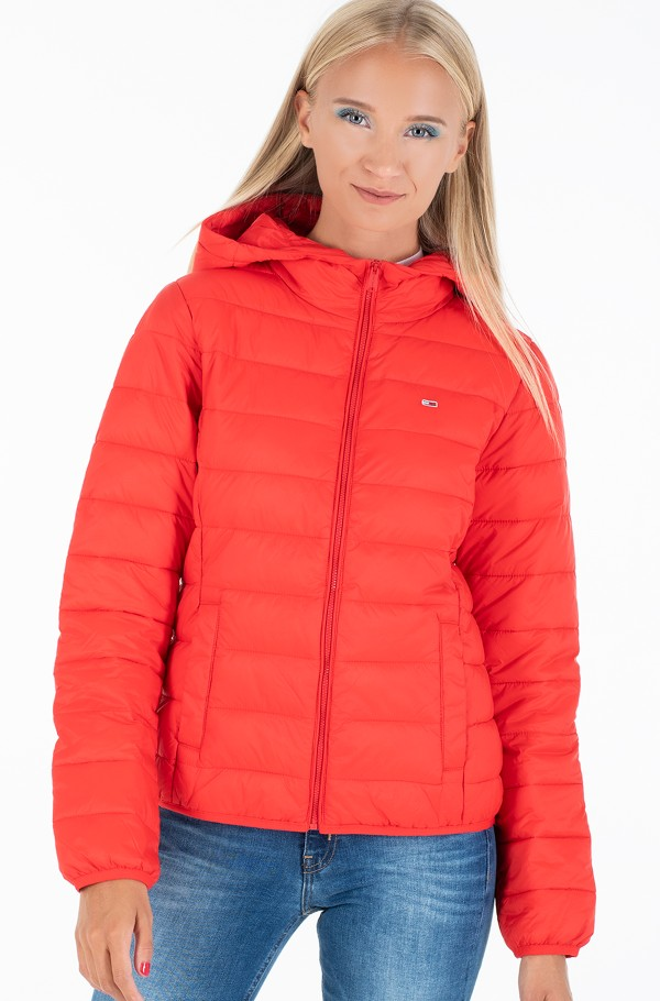 TJW HOODED QUILTED ZIP THRU
