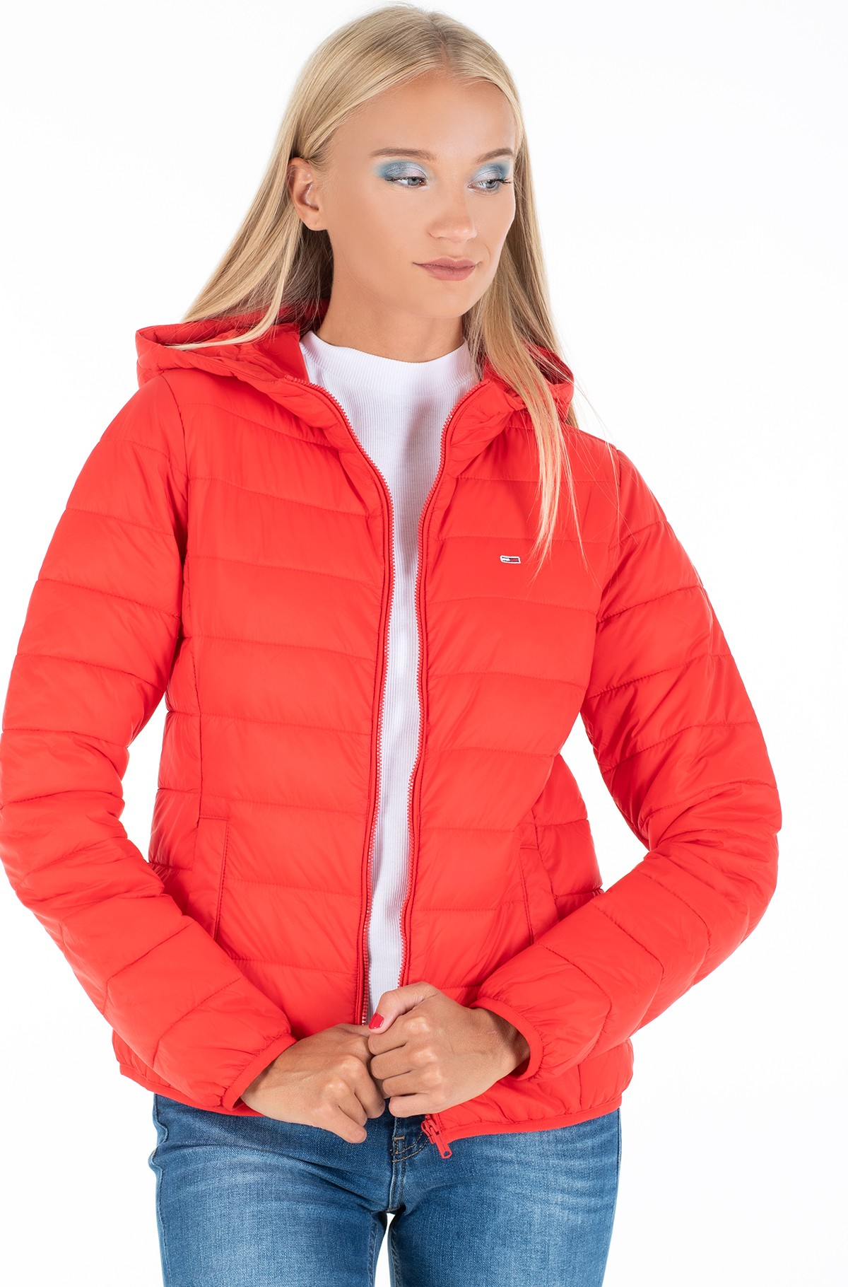 Jaka TJW HOODED QUILTED ZIP THRU-full-2