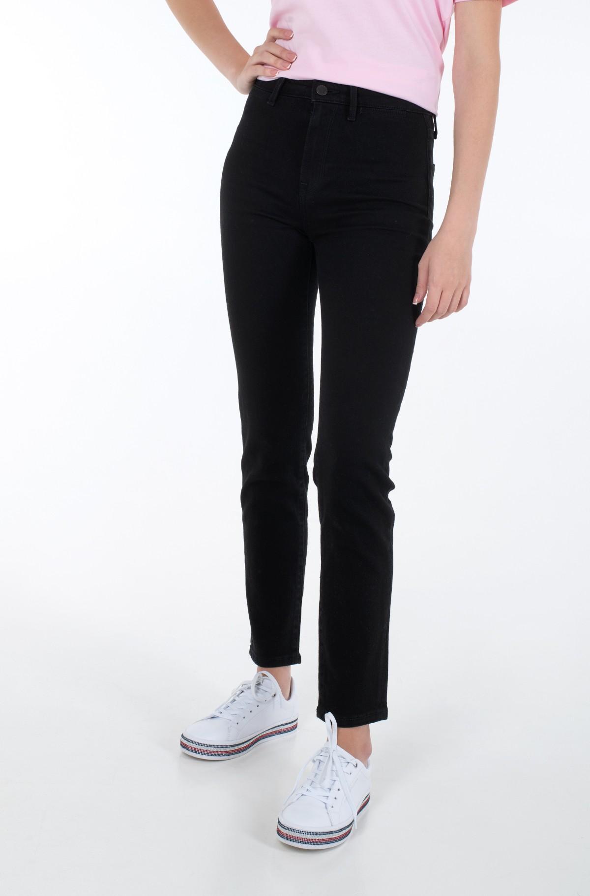 Jeans RIVERPOINT CIGARETTE HW A BLACK-full-1
