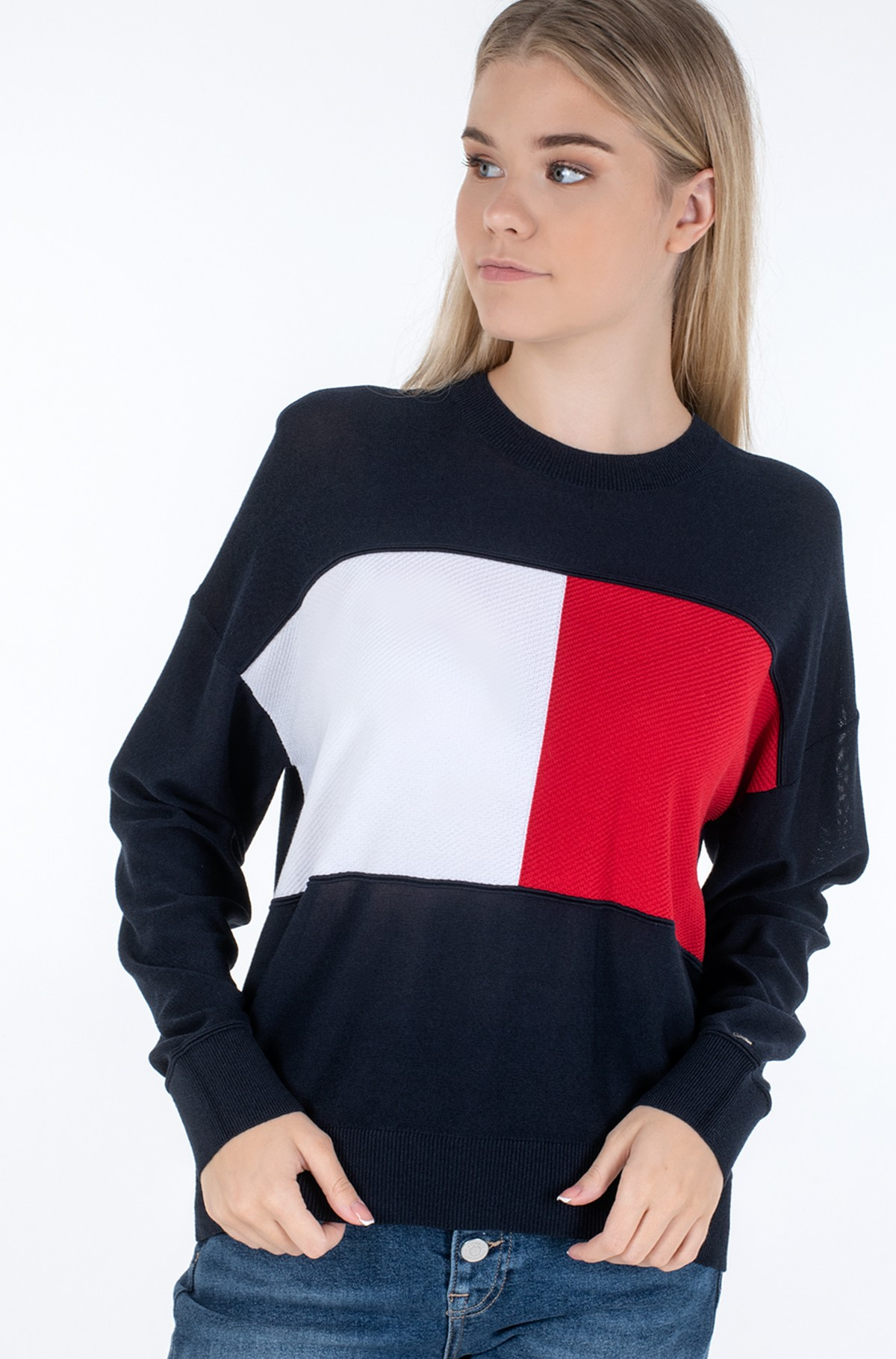Sweater ICON FLAG C-NK SWT-full-1