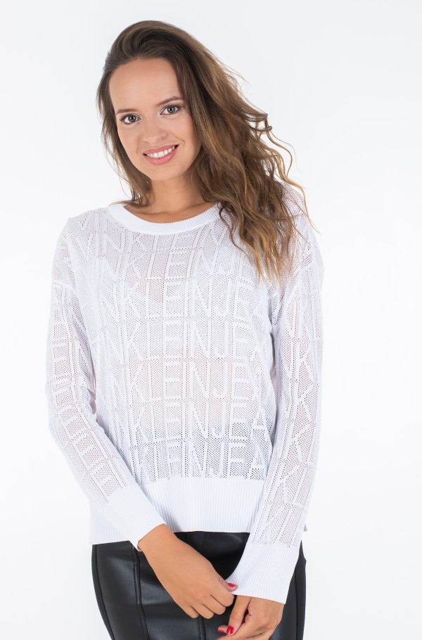 RELAXED MESH SWEATER