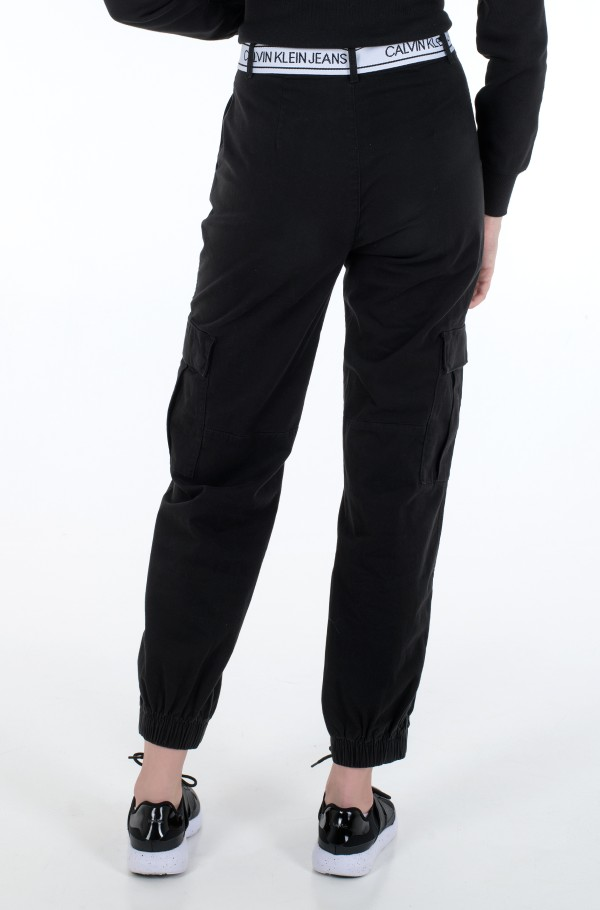 BELTED CARGO PANT-hover