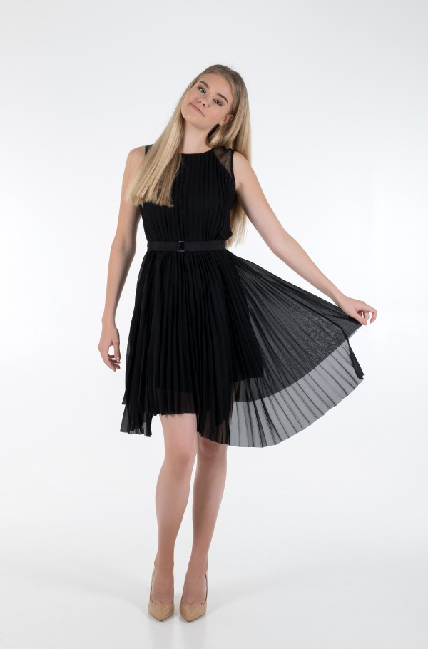 S/L PLEATED DRESS