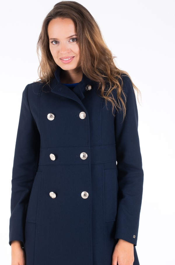 NICHELLE DB COAT-hover