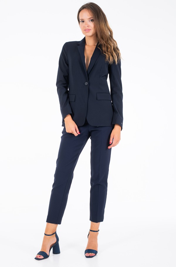 BISTRETCH COOL SB WOOL BLAZER-hover