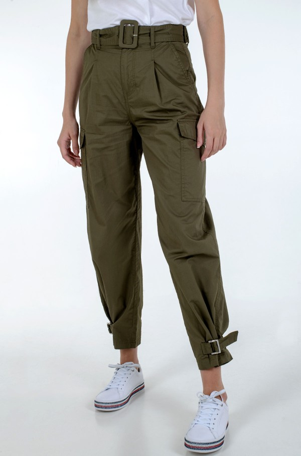 TJW HIGH RISE BELTED PANT