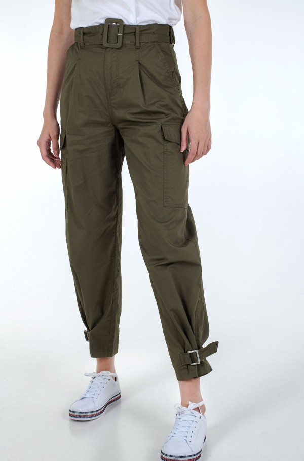 TJW HIGH RISE BELTED PANT-hover
