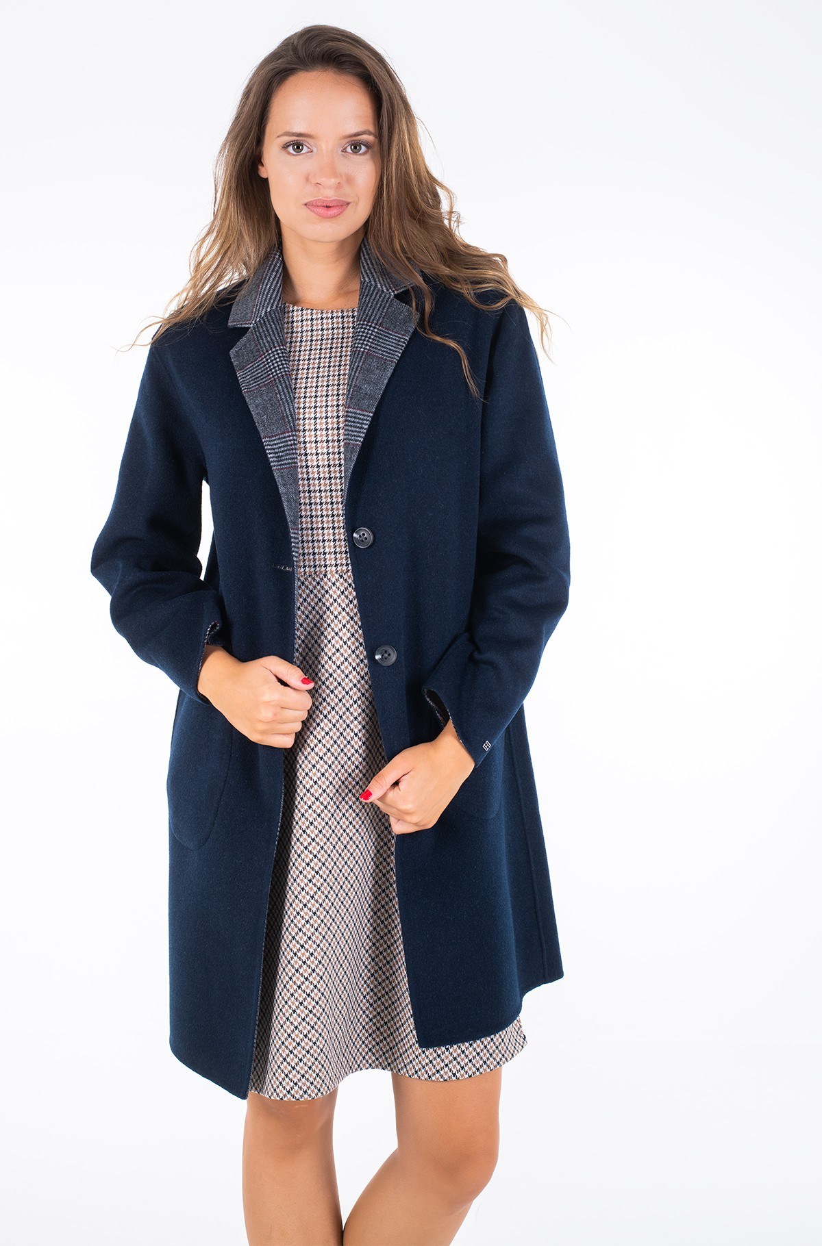 Pea coat ALISON REV DF WOOL BLEND COAT	-full-1