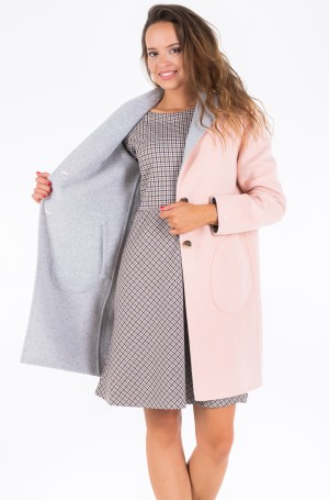 Poolmantel ALISON REV DF WOOL BLEND COAT	-2