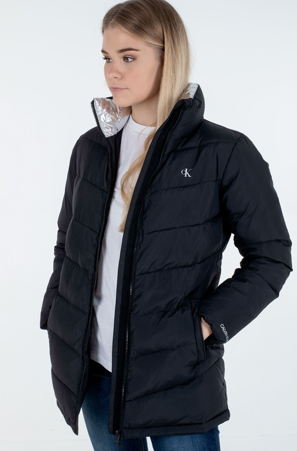 LW BELTED PUFFER JACKET