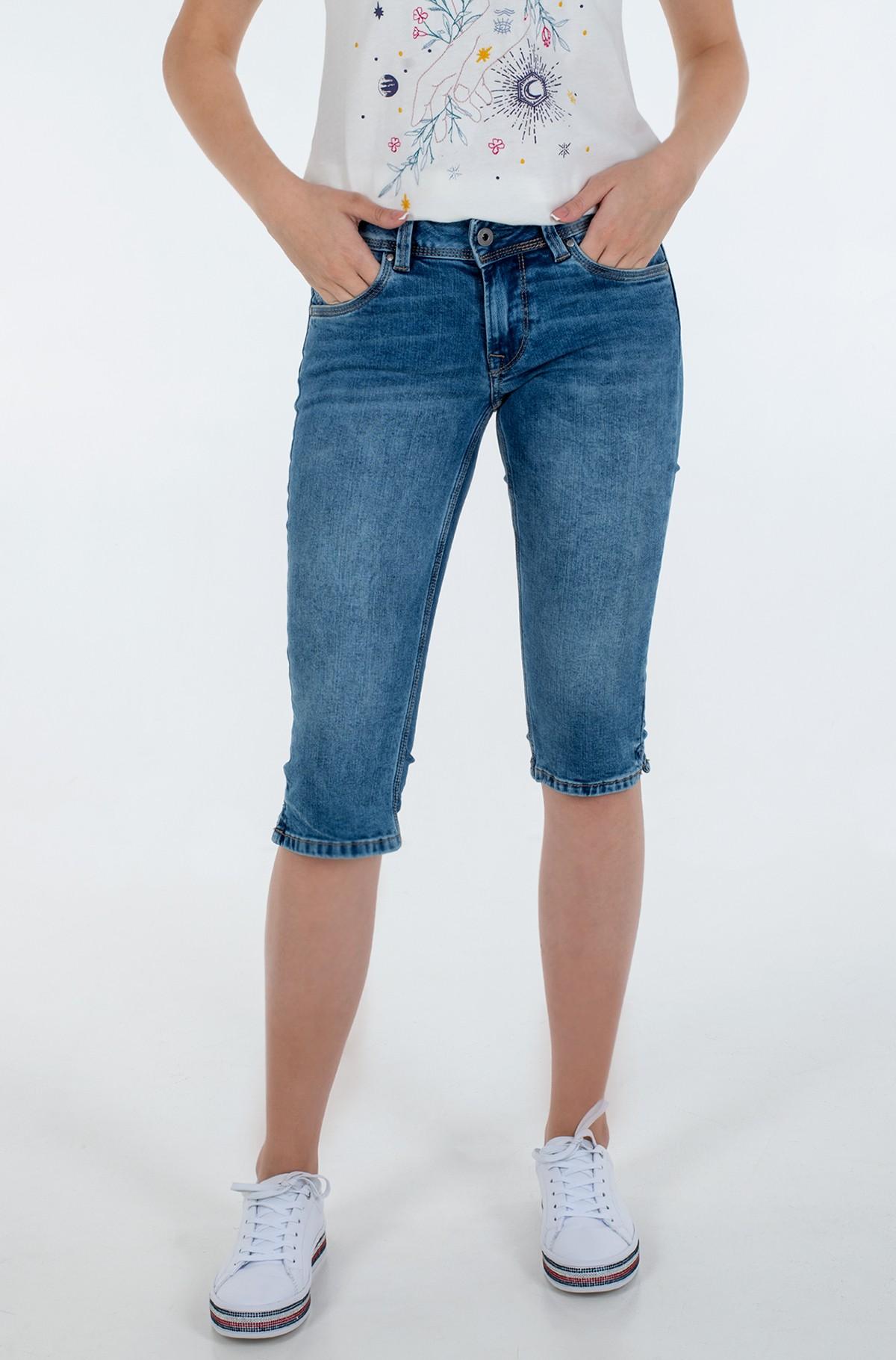Lühikesed teksapüksid SATURN CROP/PL800652MF5-full-1