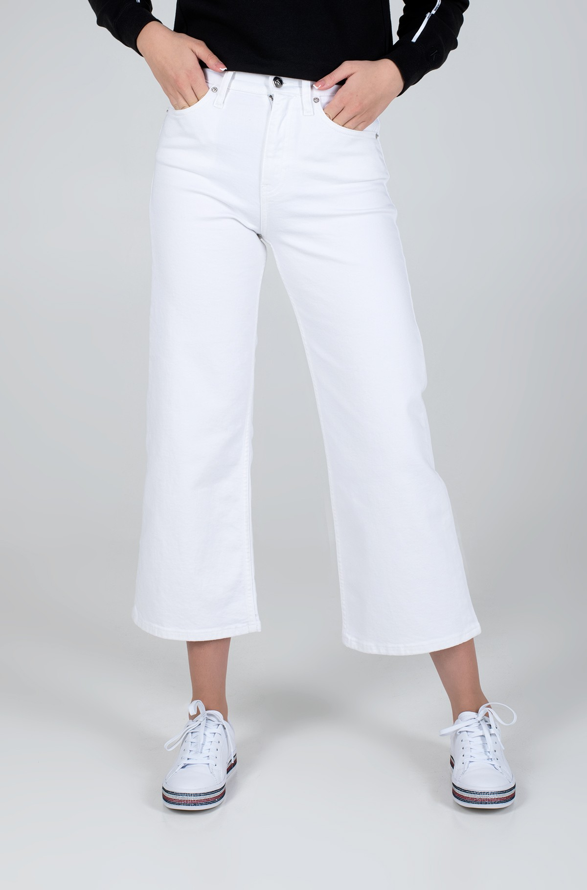 Džinsinės kelnės WIDE LEG-full-1