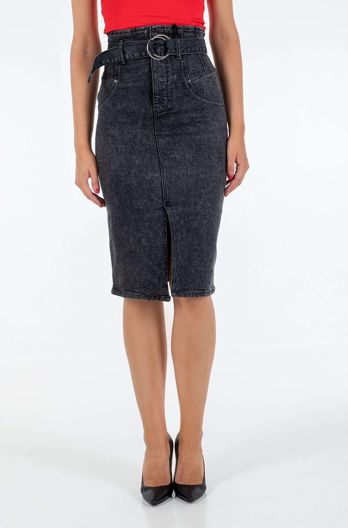 Denim skirt  W0YD47 D42K2-full-1