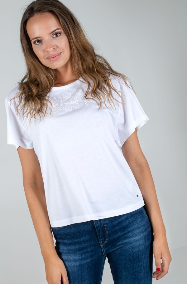 BIBI RELAXED ROUND-NK TOP SS