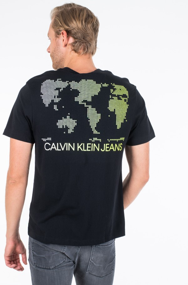 GLOBE BACK PRINT REL TEE-hover