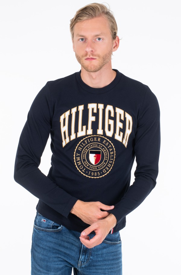 HILFIGER VARISTY LONG SLEEVE TEE